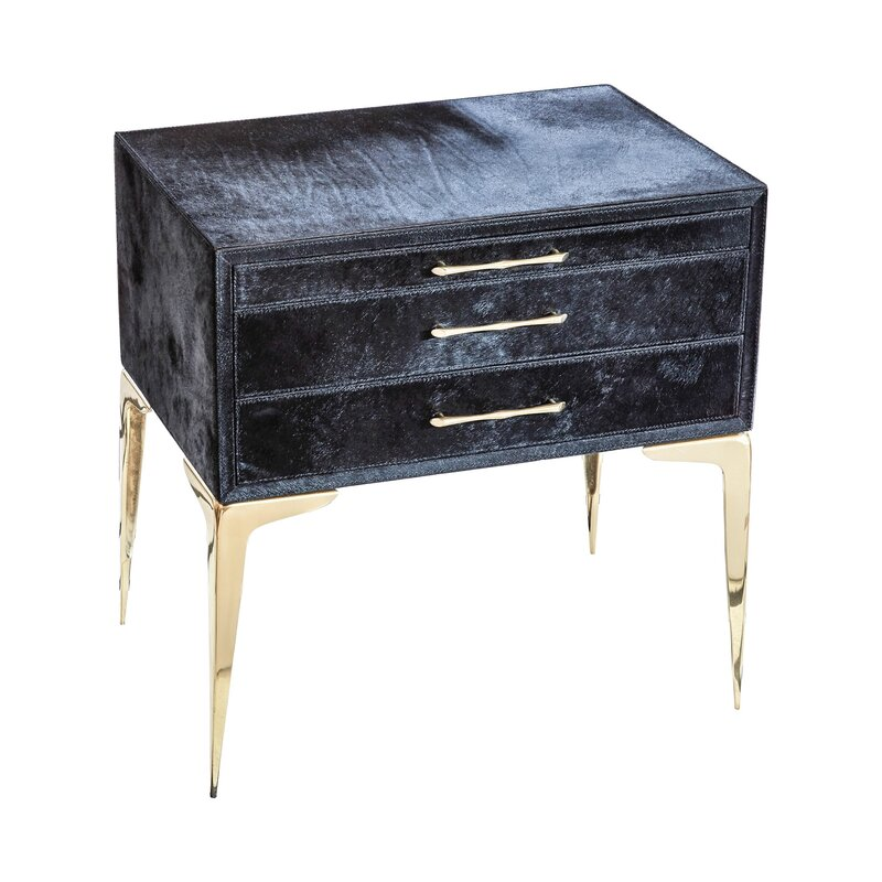 Global Views 3 Drawer Accent Chest Wayfair