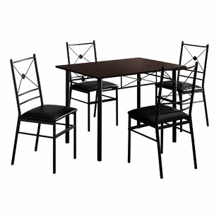 Cantero 5 Piece Dining Set