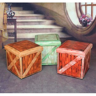 Vintique Storage Ottoman by Qu..