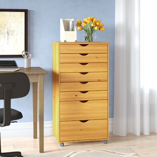 Rebrilliant 8-Drawer Vertical Cabinet