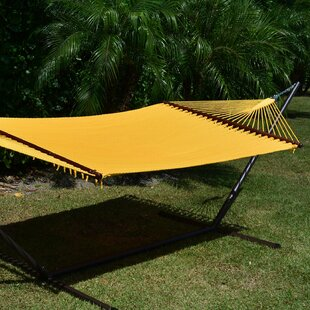 Caribbean Double Hammock with Stand