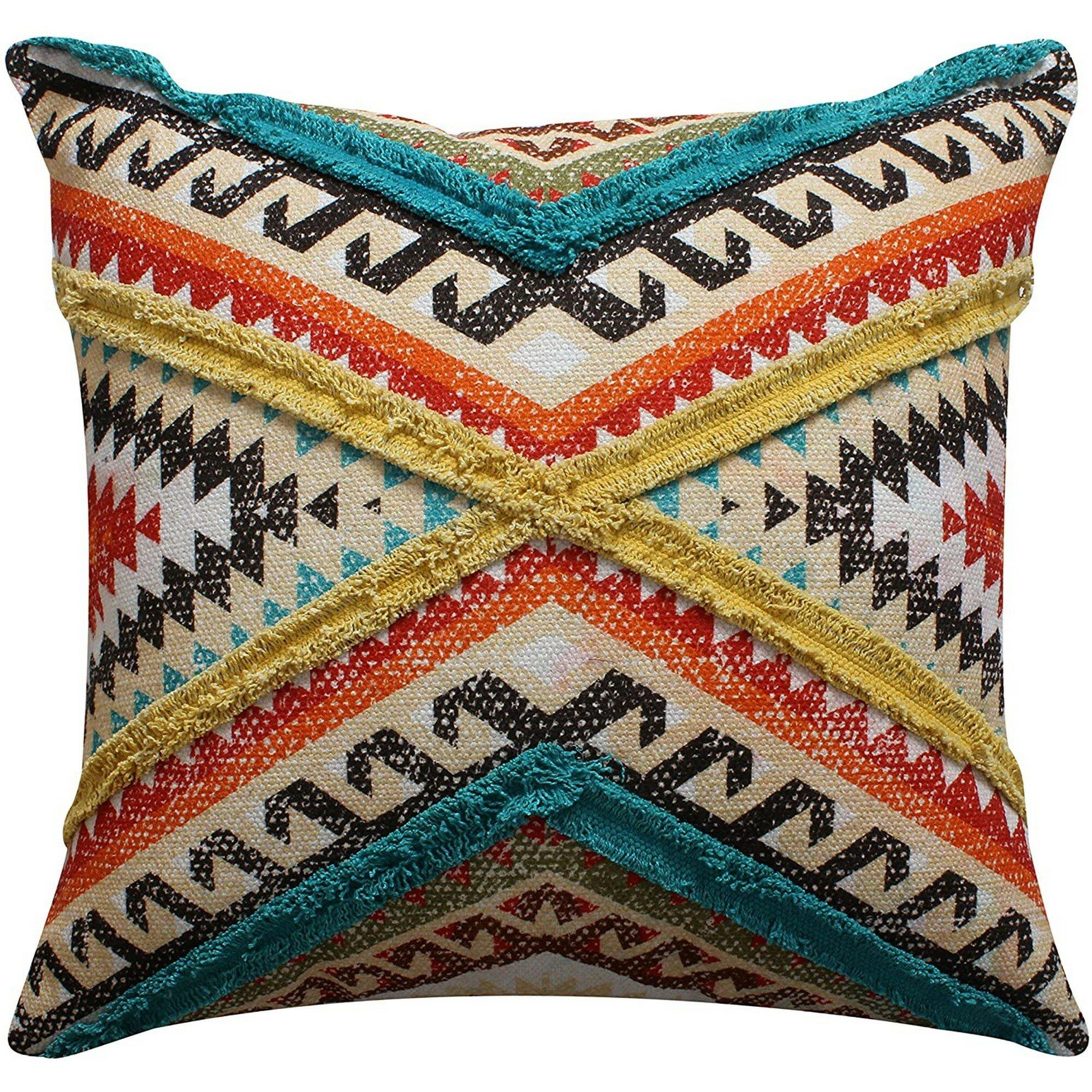 Benjara 5 Throw Pillow Cover Wayfair
