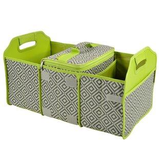 Original Folding Picnic Basket with Cooler