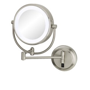 Budget Neo Modern Double-Sided LED Lighted Wall Mounted Mirror By Kimball & Young