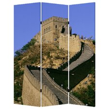72 x 48 China 3 Panel Room Divider by Screen Gems