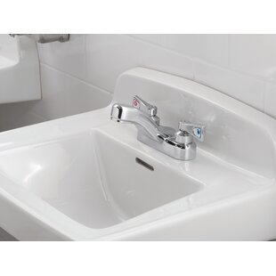 M-Dura Centerset Bathroom Faucet By Moen