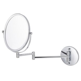 Royal Purple Bath Kitchen Parkins Oval Wall Mount Magnifying Vanity Mirror