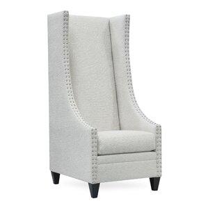 Delightful Saige Tall Wingback Chair