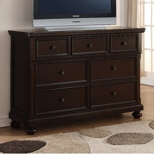 Roundhill Furniture Brishland 7 Drawer Dresser