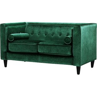 Roberta Chesterfield Loveseat by Willa Arlo Interiors