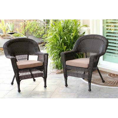 Lounge Chair With Cushion Wicker Lane