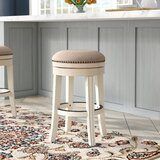 Stolz Bar & Counter Swivel Stool by Darby Home Co