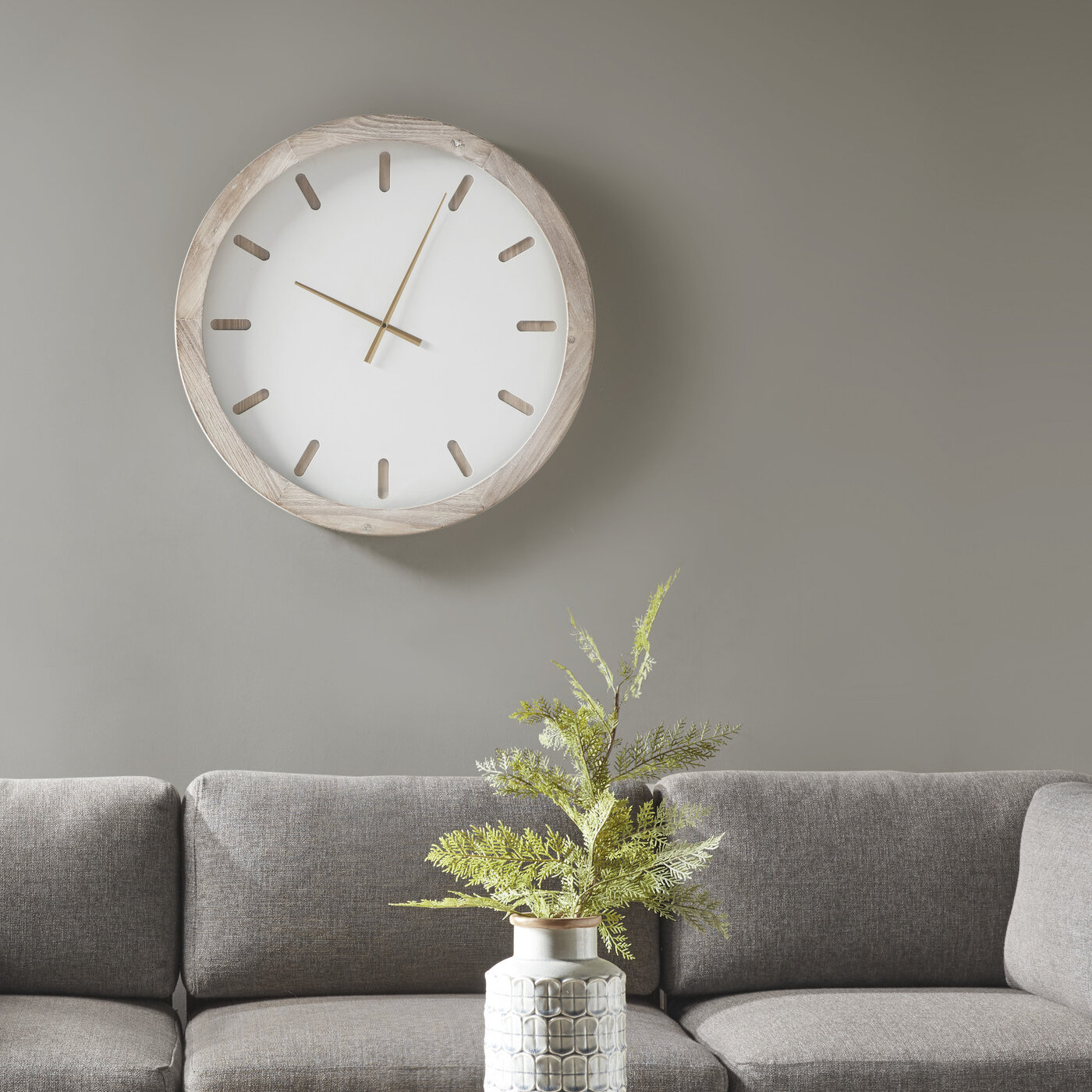 Oversized Prashant 27 6 Wall Clock