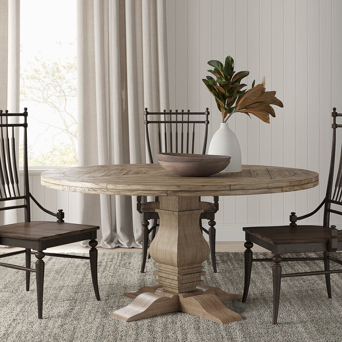 Genial Magaw Solid Wood Dining Table