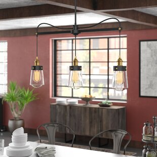 Trent Austin Design Poplar 3-Light Kitchen Island Pendant