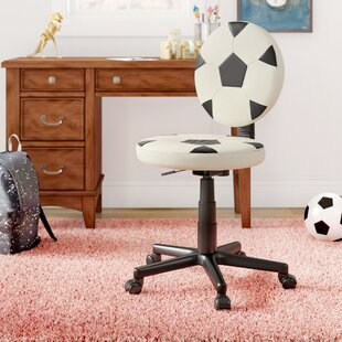 Duran Soccer Mid-Back Kids Desk Chair by Zoomie Kids