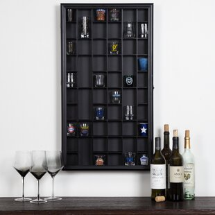 Gerry Shot Case Wall Shelf
