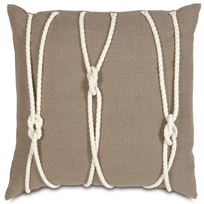 Eastern Accents Nautical Yacht Knots Throw Pillow Perigold