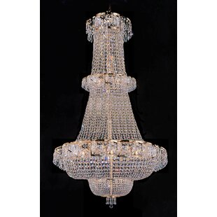 Affordable Montana 21-Light Empire Chandelier By House of Hampton