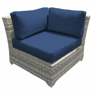 Rosecliff Heights Ansonia Corner Chair wi..