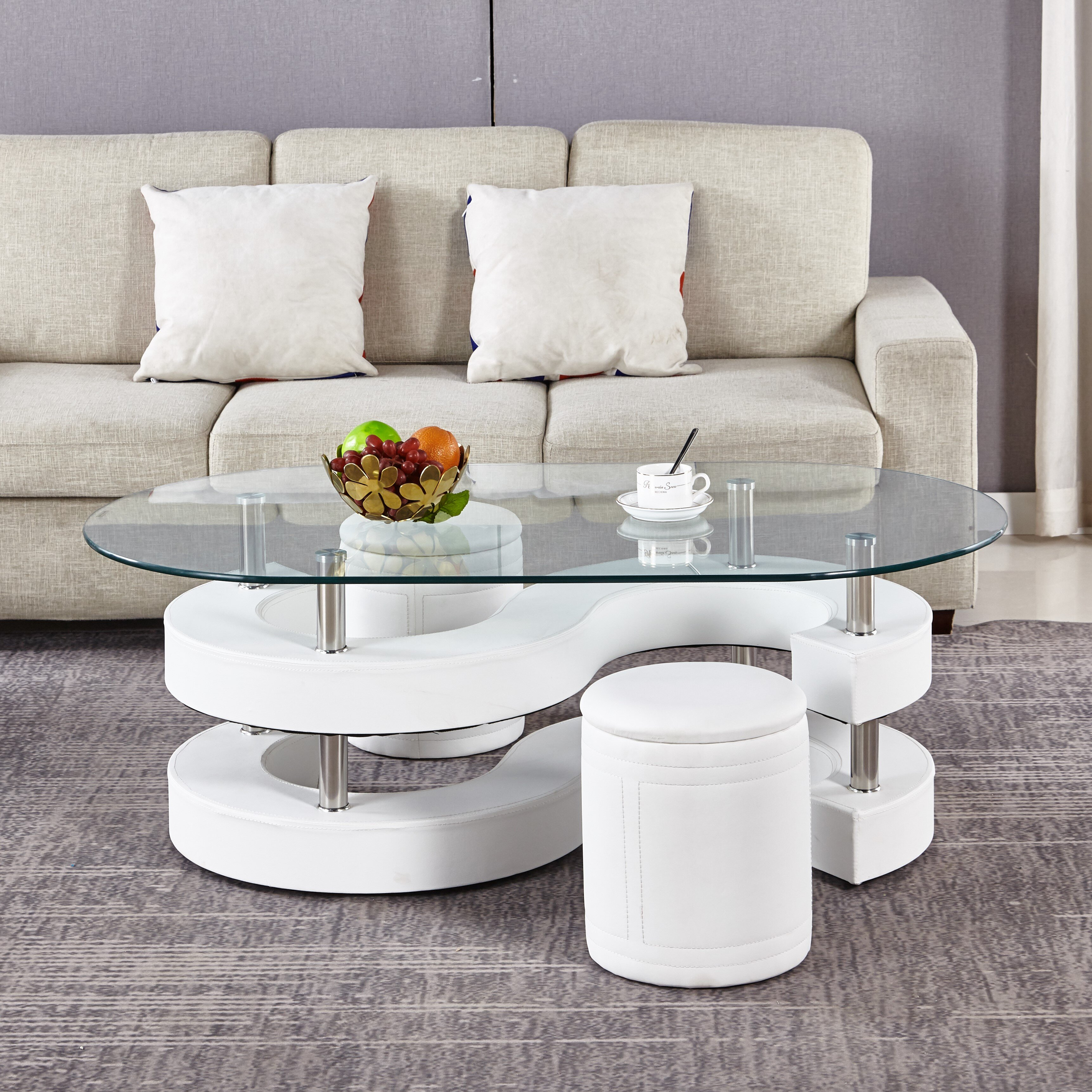 Coffee Tables With Seating Free Shipping Over 35 Wayfair