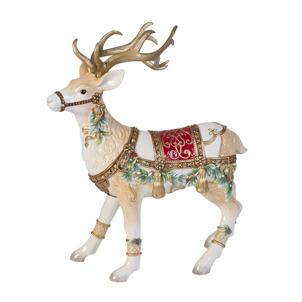 Reindeer Figurines You Ll Love Wayfair