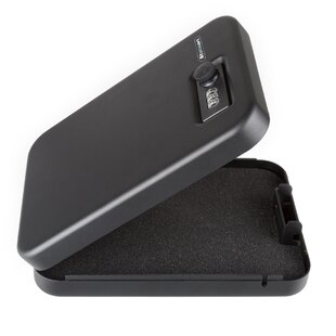 Portable Gun Safe Box with Combination Lock by Stalwart