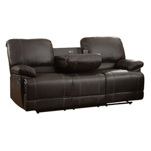 Hitterdal Reclining Sofa Red Barrel Studio