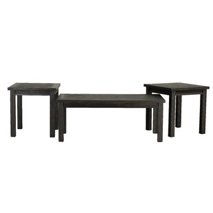 Hartwig 3 Piece Coffee Table Set