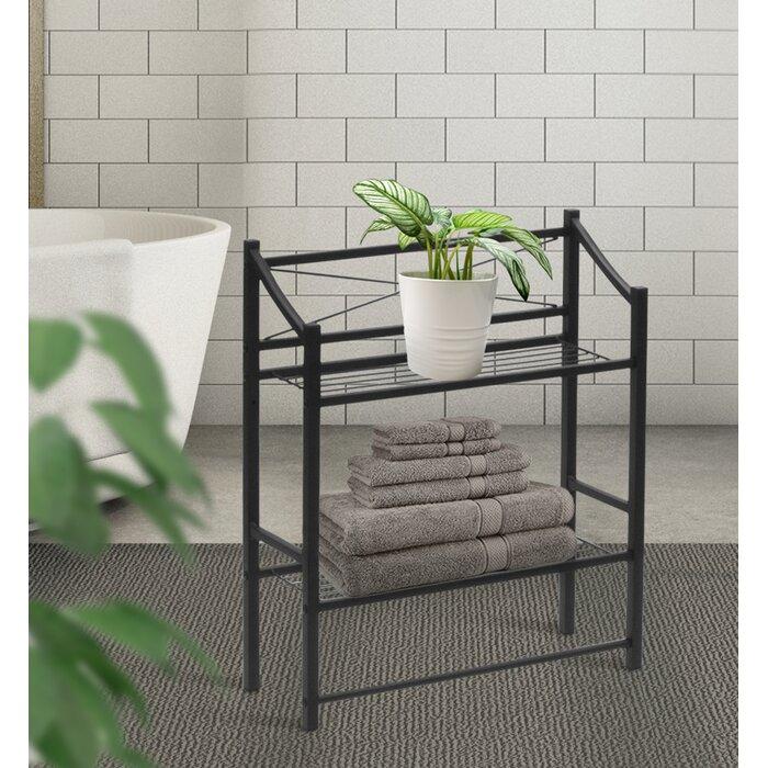 Winston Porter Waterfield 2-Tier Bathroom Shelf & Reviews   Wayfair.ca