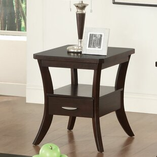 Confluence End Table With Storage
