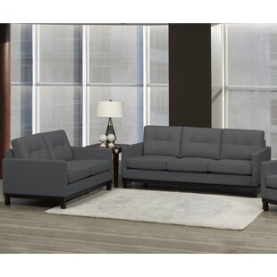 Reviews Merrick Road 2 Piece Leather Living Room Set by Latitude Run Reviews (2019) & Buyer's Guide