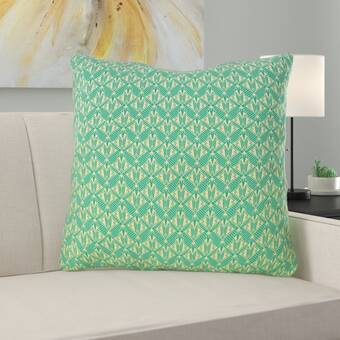Jessica Simpson Home Jacky Beaded Embroidery Linen Throw Pillow Wayfair