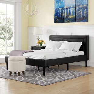Reviews Lilyana Deluxe Upholstered Platform Bed by Winston Porter Reviews (2019) & Buyer's Guide