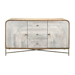 Bungalow Rose Chadwell Wood and Metal Con..