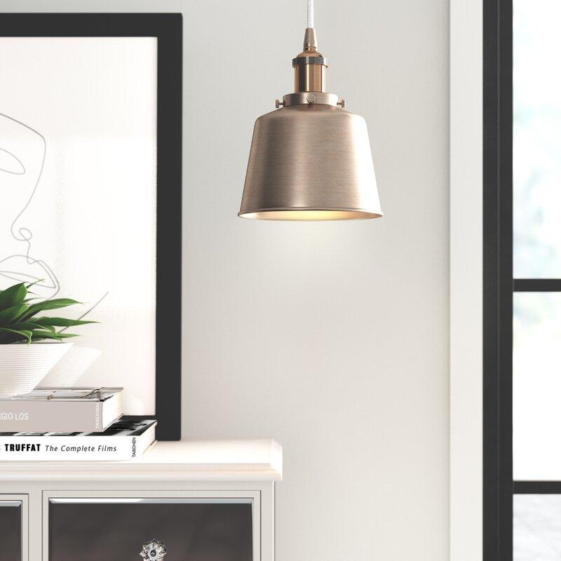 Tosca 1 Light Single Bell Pendant Reviews Joss Main