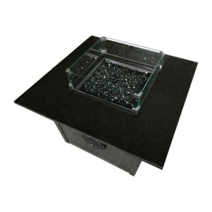 Music City Fire Company Echo Aluminum Propane/Natural Gas Fire Pit Table