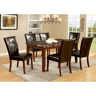 Madrid 7 Piece Dining Set by Hokku Designs