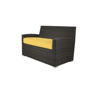 Brayden Studio Roose Loveseat with Cushion
