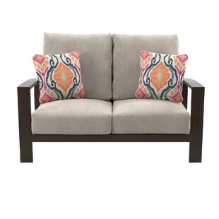 Jay Loveseat With Cushions by Mistana Read Reviews