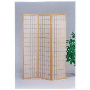 Paynter 3 Panel Room Divider by Winston Porter