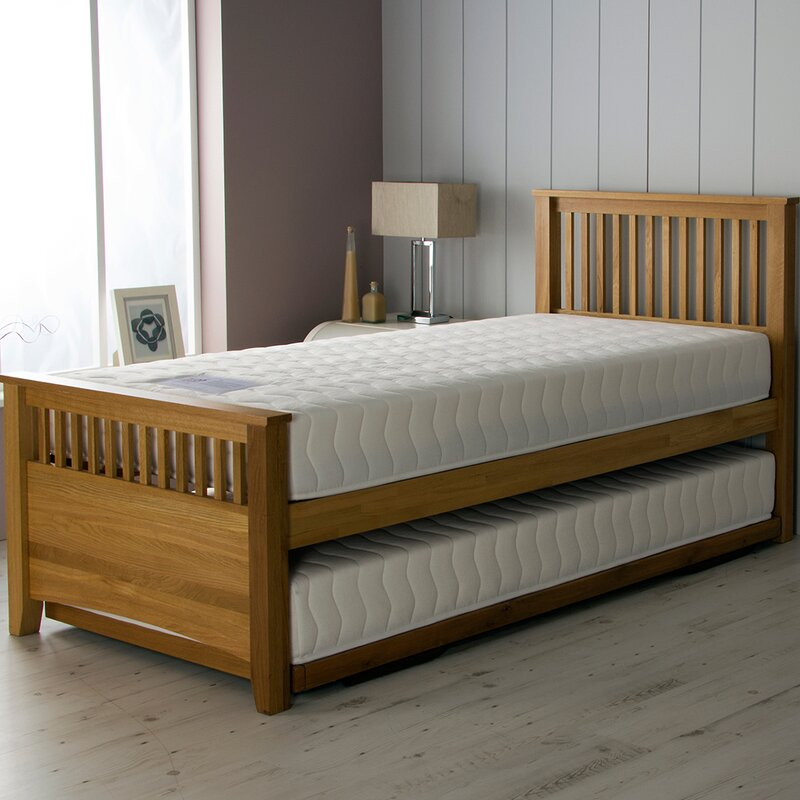 Airsprung Beds Falmouth Pocket Daybed With Trundle And Mattress