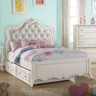 Saffold Tufted Upholstered Platform Bed