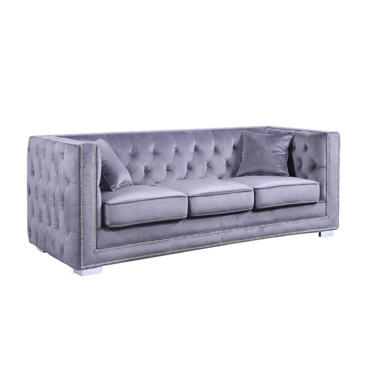 Rubio Modern Tufted Chesterfield Sofa