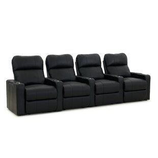 Home Theater Row Seating Row of 4 by Red Barrel Studio
