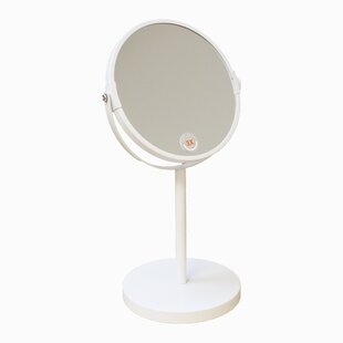 Inexpensive Jake Makeup / Shaving Mirror with Weight Base By Charlton Home