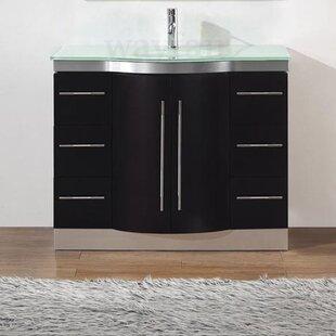 Dinara 42 Single Bathroom Vanity Set with Mirror