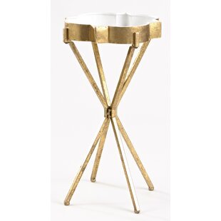 InnerSpace Luxury Products Quatrefoil Tray Table