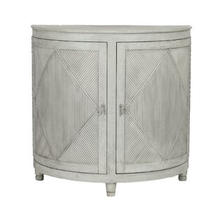 Gabby Chelsea Demilune Accent Cabinet