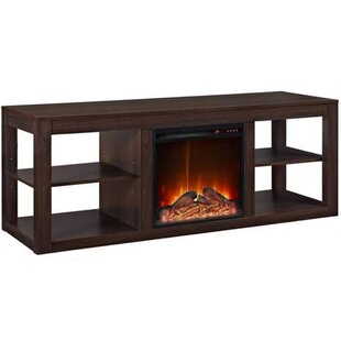 Laudalino TV Stand with Electric Fireplace